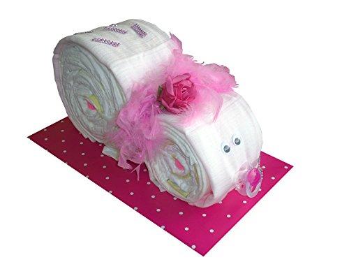 Para pañales cocina con forma de cupcake para pañales caracol café con diseño de bebé de regalo para bautismo nacimiento