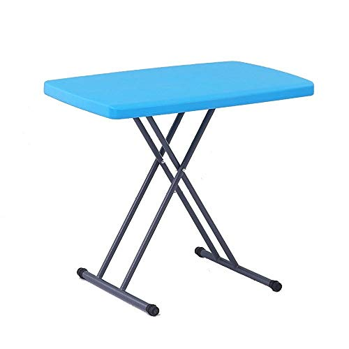Soporte Portátil Las Estaciones de Trabajo de Ordenador de Mesa de plástico Plegable portátil de Butler Mesa de Altura Ajustable los 66CM (Color : #1)