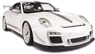 Bburago Porsche GT3 RS 4.0 Car 1:18 Scale For Boys - White