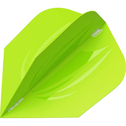 Target Darts - 5er Sets ID Pro. Ultra Grüne No.6 Dart Flights - insgesamt 15 Stück, Grün