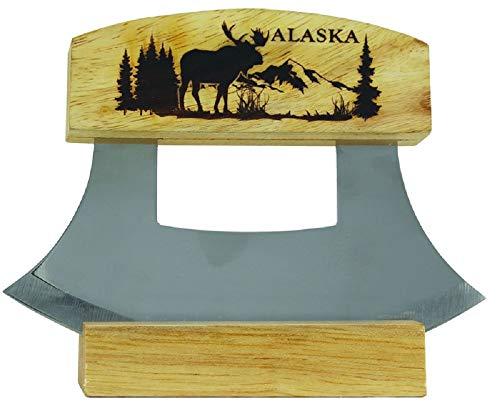 Arctic Circle Ulu w/Rustic Moose 18349