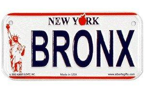 Gift House Bronx New York Bike Plate