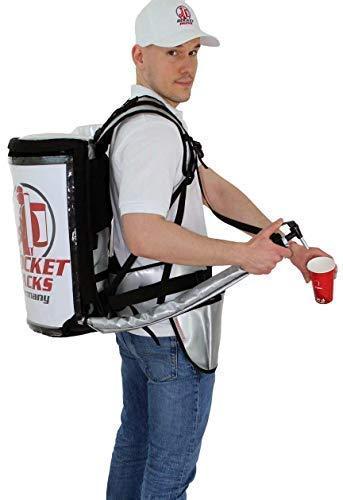 Getränke Rucksack 11 Liter Edelstahl Tank Glühwein Punsch Tee Kaffee Kakao Bier Cola Wasser (ohne Pumpe)
