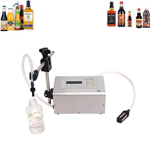 SHRFC Riempimento di Liquido Macchina quantitativa Bevande Filler 5-3500ml per Olio Birra Acqua di Profumo di Panna liquida Macchina di rifornimento Bottiglia Filler Regolabile Shampoo Vino Acqua