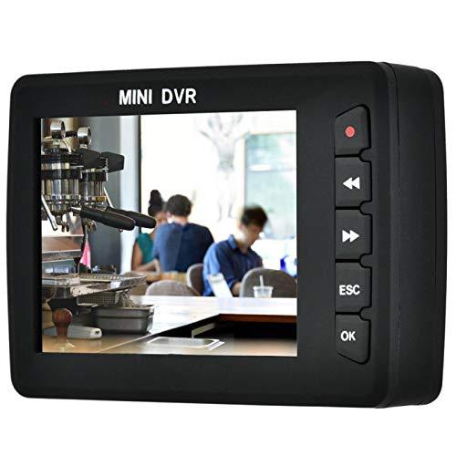WNSC DVR para automóvil, grabadora de Video Flexible y Liviana, cámaras de vigilancia portátiles con Memoria Digital para Herramientas para(European Standard 100-240V)