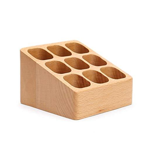 SHYPT Classics - Juego de Cajas de Almacenamiento de bambú de 9 Piezas con divisores