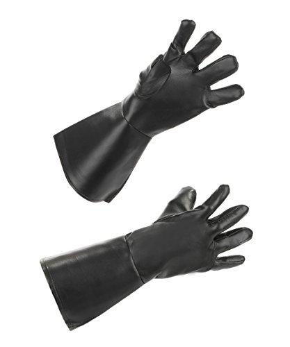 Boland 54324 - Handschuhe Western, Einheitsgröße, schwarz