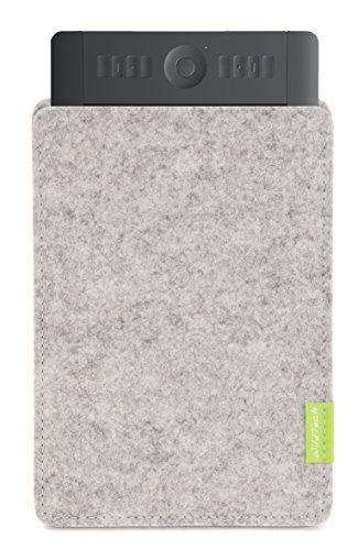 WildTech Sleeve - Funda para Wacom Intuos Pro M (PTH-651/PTH-650), color gris claro
