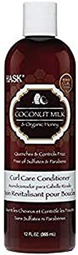 HASK COCONUT MILK & HONEY CURL CARE DEEP CONDITIONER 355 ML
