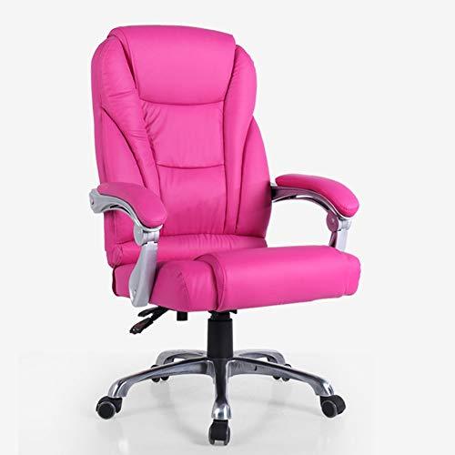 ADHKCF E-Sports Gaming-Stuhl Ergonomischer drehbarer Bürosessel mit gekoppelten Armlehnen Hohe Rückenlehne (Stil : E)
