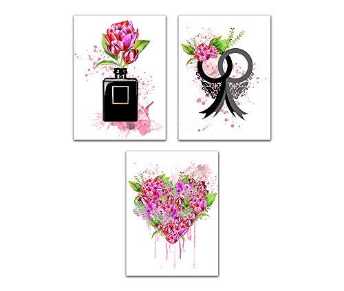 4Good Epictures Premium poster als wandafbeelding voor moderne woonkamer decoratie afbeelding slaapkamer Coco C. Wandafbeeldingen zonder lijst Chanel in Flowers