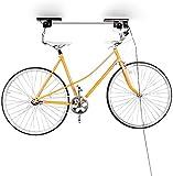 Relaxdays Supporto di Sollevamento per La Bicicletta Porta Bicicletta da Soffitto, 20 Kg di Portata