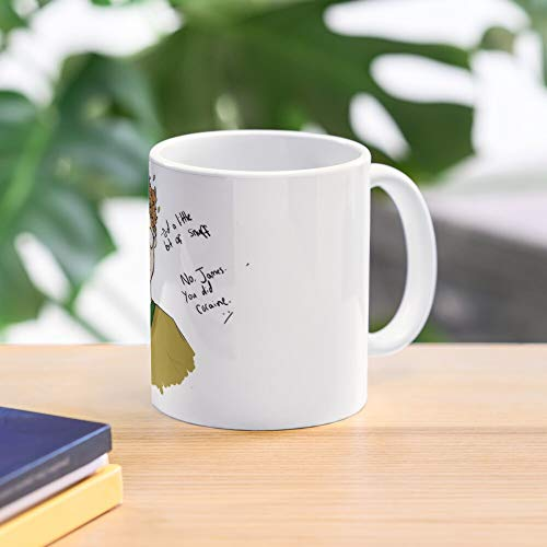 Meme Comedy Shitty James Acaster Funny British Comedy Ed Gamble Best 11 Ounce Ceramic Coffee Mug Gift