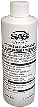 SAS Safety 5136 Preservative for Eyewash Station, 8-Ounce Bottle by SAS Safety