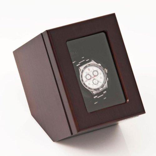 Brookstone Automatic Wooden Single Watch...