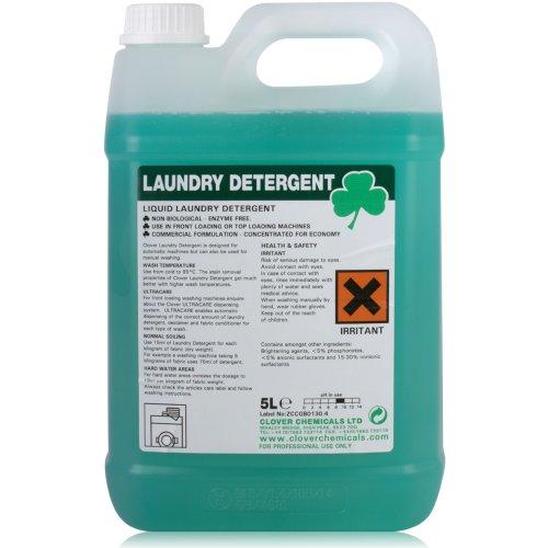 Detersivo per Bucato Liquido Lavatrice Sapone (5L). accessori per pulizia da TheChemicalHut.