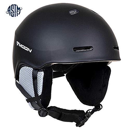 Ski Helmets Men (Matt Black, L)