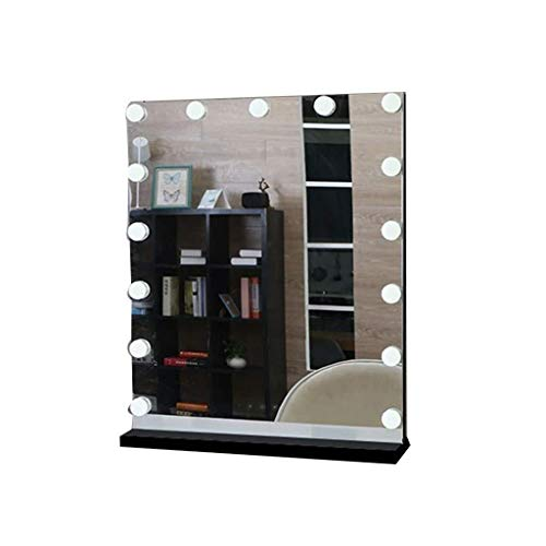 123564 LED Makeup Mirror Lights Kit, HD Smart Touch Button European Style Flat Bottom Support Safe And Durable For Dressing Table
