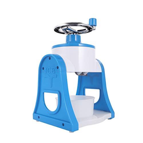 YARNOW Trituradora de Hielo Y Máquina de Hielo Raspado con Bandejas de Cubitos de Hielo Molinillo de Batidos de Hielo de Verano