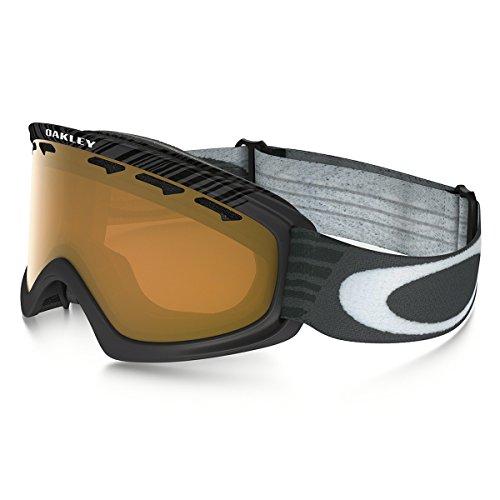 Oakley O2 XS Snow Goggles, Small, Jet Black, Persimmon