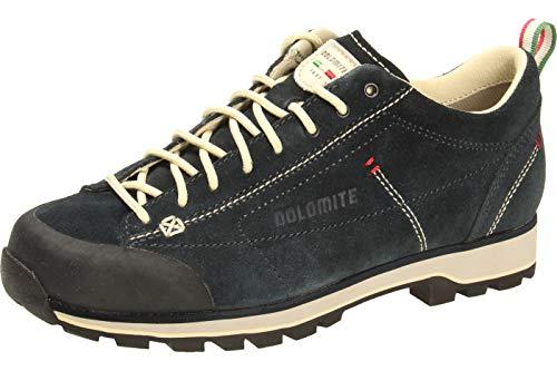 Dolomite Dolomite Unisex Zapato Cinquantaquattro Low ZINQUANTAQUATTRO NIEDRIGER Schuh, Blaues Weiss Kabel, 41 1/3 EU