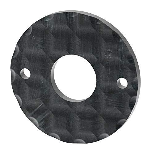 Fenau   Drückerrosette   Maße: Ø 50 mm   Stahl (Roh) S235JR