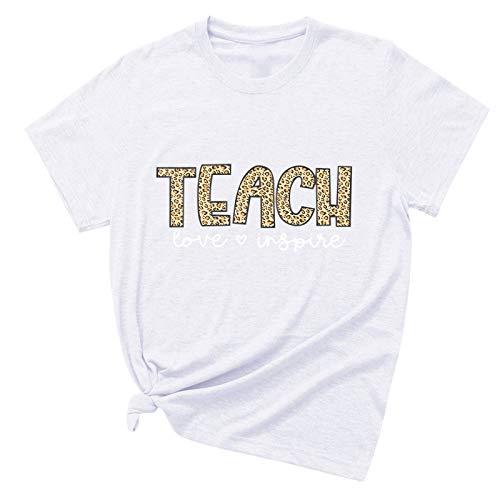YANFANG Camiseta Unisex Traje de Pareja Tops Casuales de Manga Corta con Estampado de Gato de Moda para Hombres y Mujeres Casual básica Buen Juego