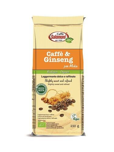 Caffè salomoni Caffé & Ginseng Per Moka, 250 g