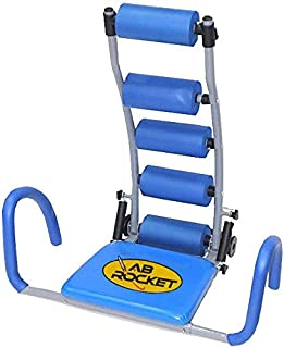 AB Rocket Super Abdominal Exercises Machine, bl-6061, Blue