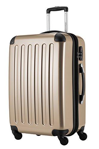 HAUPTSTADTKOFFER, Valigia Rigida Alex, TSA, Taglia 65 cm, 74 Litri, Champagne