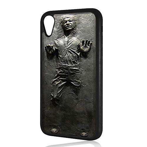 (for iPhone XR) Durable Protective Soft Back Case Phone Cover - HOT1964 Starwars Hansolo Carbonite