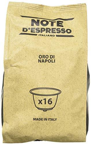 Note D'Espresso Oro di Napoli, Capsule per caffè, esclusivamente compatibili con macchine Nescafé* e Dolce Gusto*, 7 g x 96