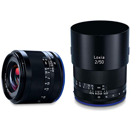 Zeiss Loxia 50mm f/2 Planar T Lens for Sony E...
