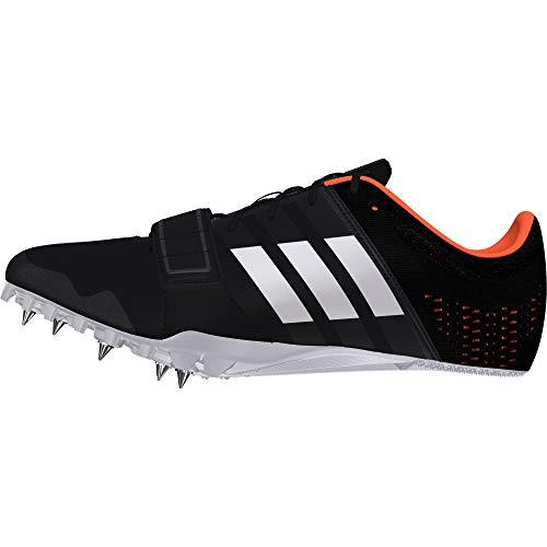 adidas Performance Mens Adizero Accelerator Running Spikes 12 US Black