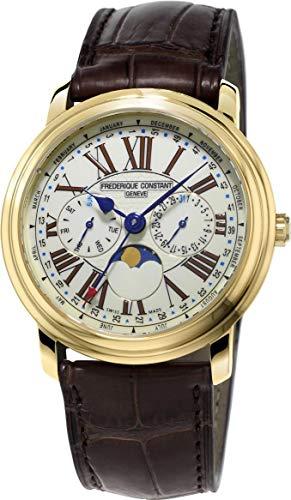 Frederique Constant Geneve Classic Business Timer FC-270EM4P5 Orologio da polso uomo Ottima leggibilità