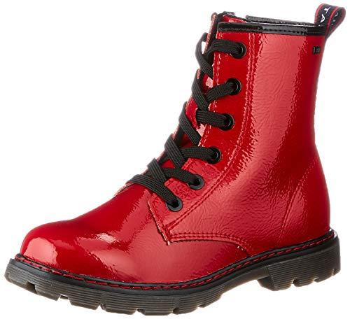 TOM TAILOR 9071602 Halblange Stiefel, red, 35 EU