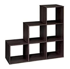 3-2-1 cube design great for quick organization, Finished on front and back of unit for multiple display options Eliminate clutter and maximize space; Create storage and display space for any living area in the home Product measures: 35.85-inch H by 3...