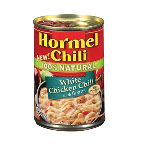 Factory outlet Hormel 100% Natural Austin Mall White Chicken Chili Pack of 6 Beans with