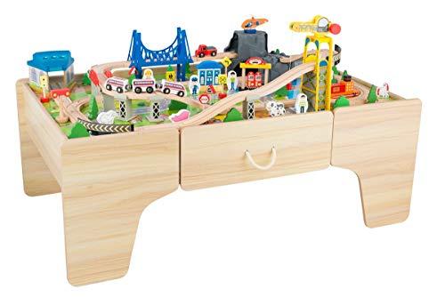 Coemo Spieltisch Theo Holz mit Schublade 100tlg....