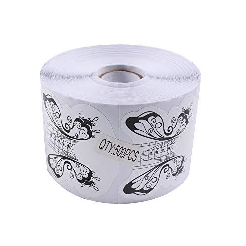 BeautyLeader 500 unids/rollo de uñas guía acrílico punta