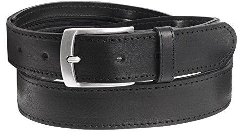 Harrys-Collection Tresorgürtel Extra Langer Reißverschluss, Bundweite:95, Farben:schwarz