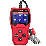 ANCEL BA201 Car 12V 100-2000 CCA Battery Load Tester Automotive Starter Cranking Alternator Charging System Digital Analyzer Auto Bad Cell Test Tool - Red