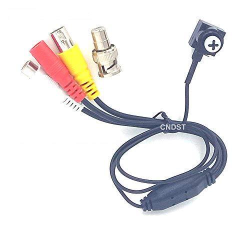 CNDST CCTV 1080P HD AHD Mini cámara de Seguridad Espía estenopeica Sony Sensor 3.6mm 90degree 2000Tvl 2MP Mini cámara de vigilancia CCTV Oculto