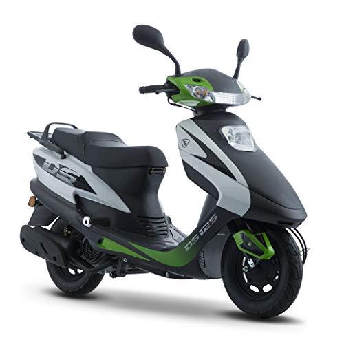 Motocicleta Italika de Motoneta- Modelo DS 125 Verde Negro