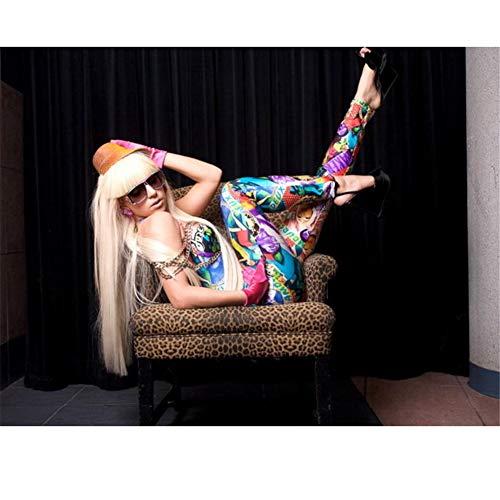 Lady Gaga Singer Hot Music-Print Art Wall Poster se utilizan para Decorar Regalos en la Pared de la Sala de Estar Familiar Dormitorio 60X90cm Sin Marco