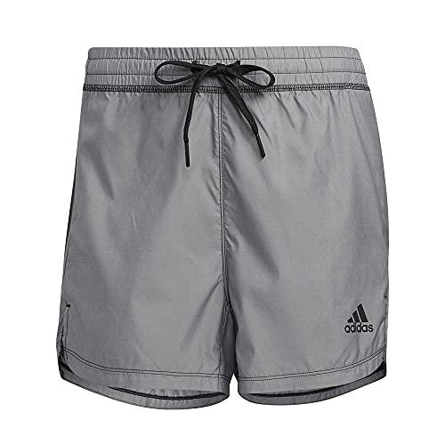 adidas ELV Wvn Pb Pacr Pantaloncini, Blckme, XL Donna