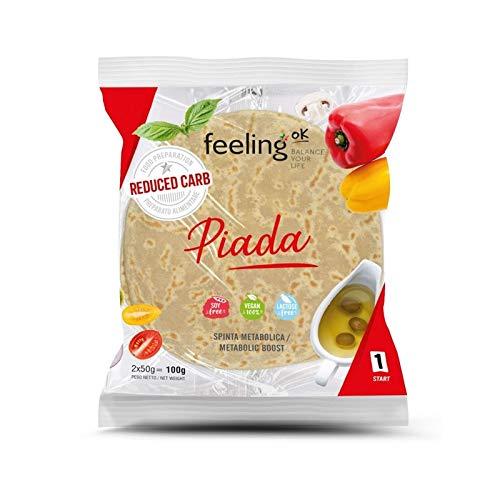 Feeling Ok Piada - Piadina Reduced Carb 2x50g 3 Paquetes 300g
