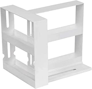 estante para vajilla stante de cocina para armario estante para especias estante para especias apilable estante de pie estante para armario 14 x 30 cm