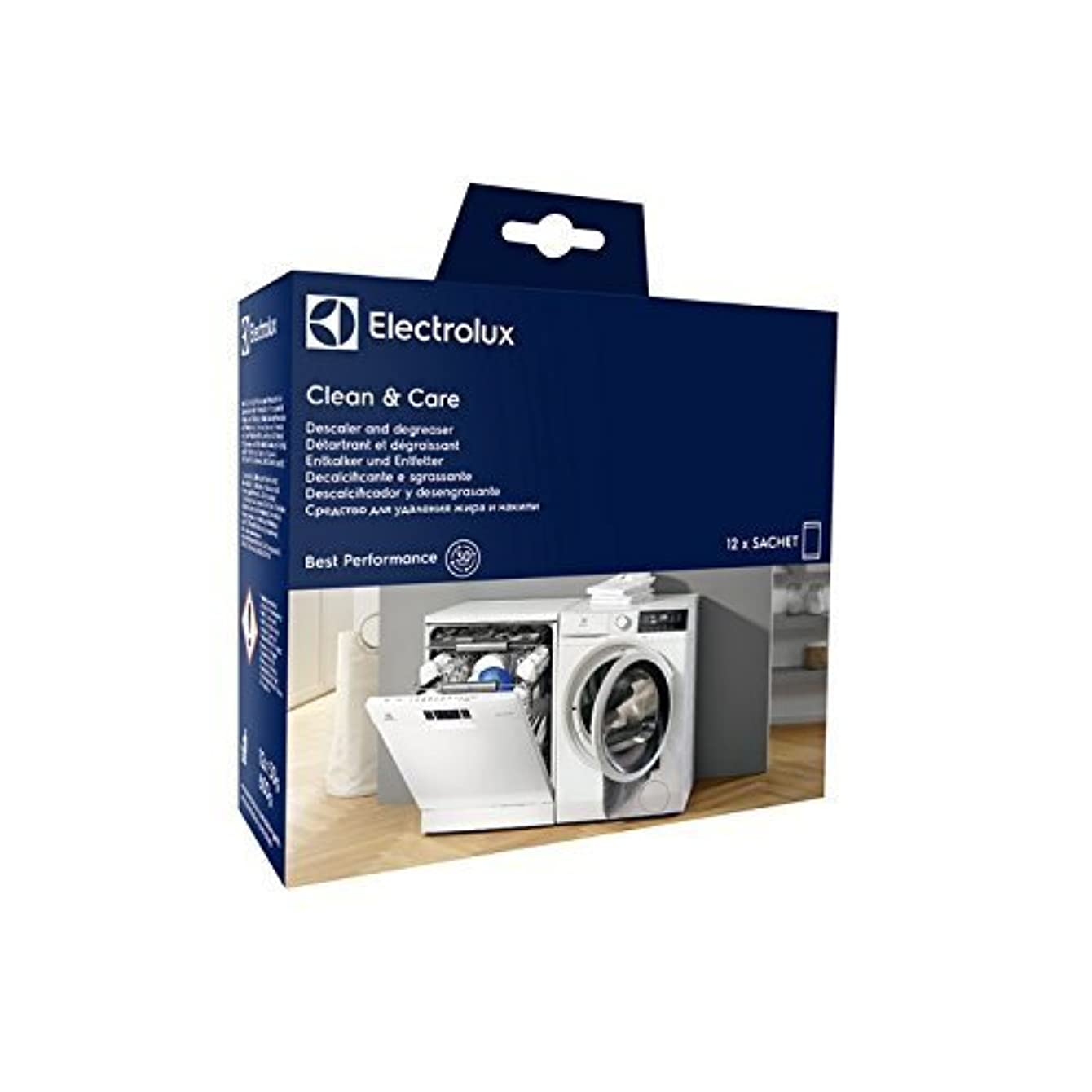 Electrolux 9029798072 Clean & Care Descaler for Washing Machine and Dishwashers
