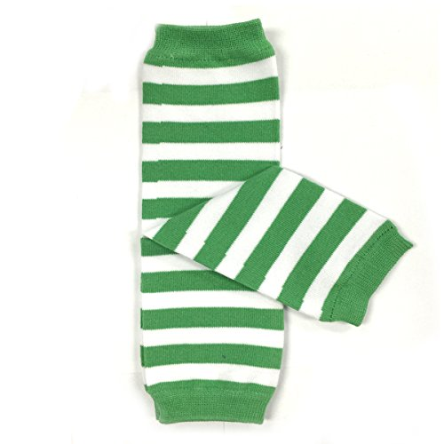 St. Patrick's Day baby leg warmers